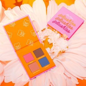 Lime Crime Plushies Eyeshadow Quad in Sweet Blends